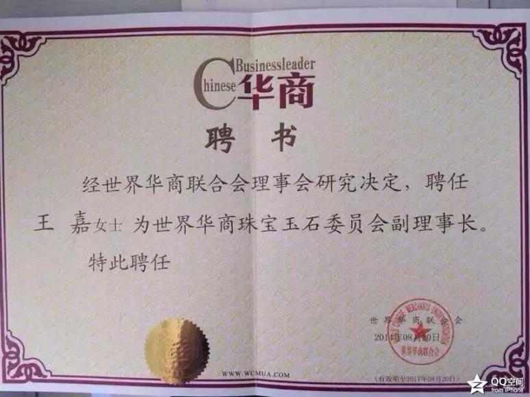 泰金嘉国际连锁珠宝董事长王嘉个人简介