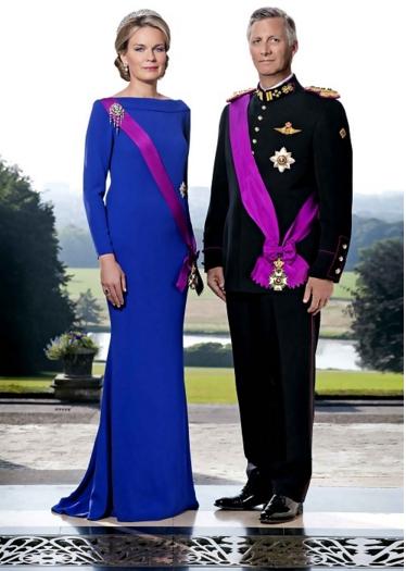 """Leysen1855莱绅通灵""""蹭上""""王室珠宝,沈东军获比利时现任王后玛蒂尔德接见"""