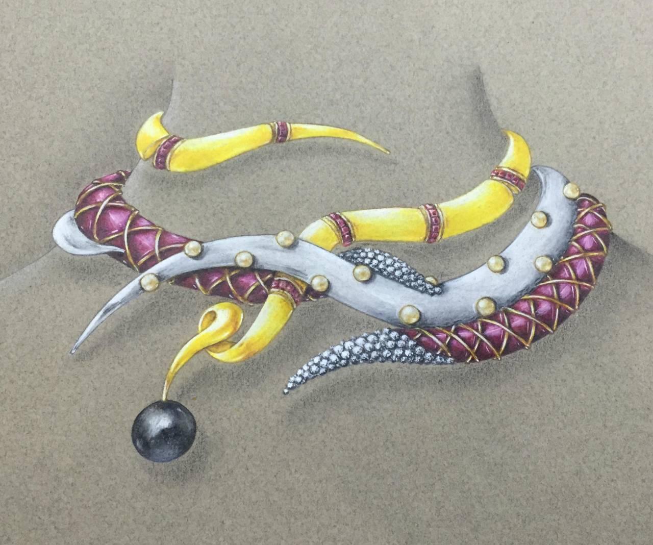 艺术实验》珠宝设计师》邢应》一种存在