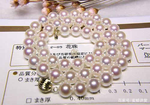 Akoya珍珠中什么叫天女、花珠、真多麻?
