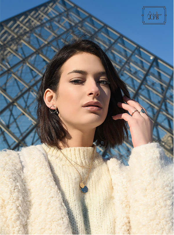 法式轻奢珠宝Atelier J.FB,用混搭打造百变巴黎女郎
