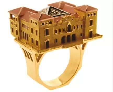 戴在身上的建筑:把一个城市浓缩在一件珠宝中